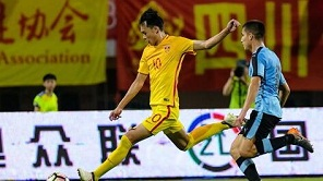 熊猫杯-刘若钒破门 国青3-1乌拉圭三战全胜首次捧杯