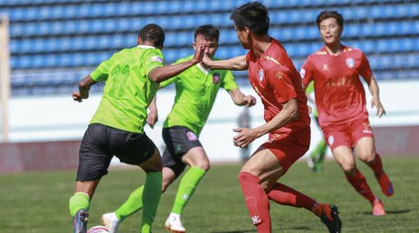 新疆雪豹1-0北体大取首胜
