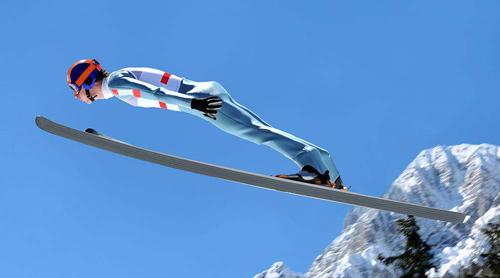 跳台滑雪——花式